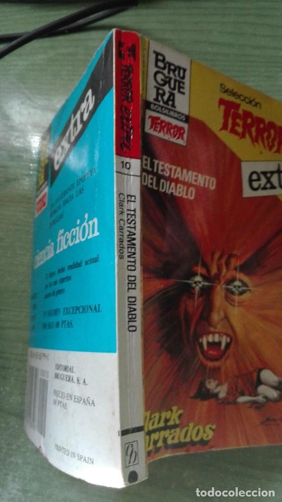 Libros de segunda mano: RARO BOLSILIBRO EXTRA SELECCION DEL TERROR DE 189 PAGINAS - Foto 2 - 82262052
