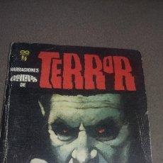 Libros de segunda mano: NARRACIONES GEMINIS DE TERROR Nº 12 MARIONETAS DEL HORROR - 6 RELATOS REF. 120. Lote 82314488
