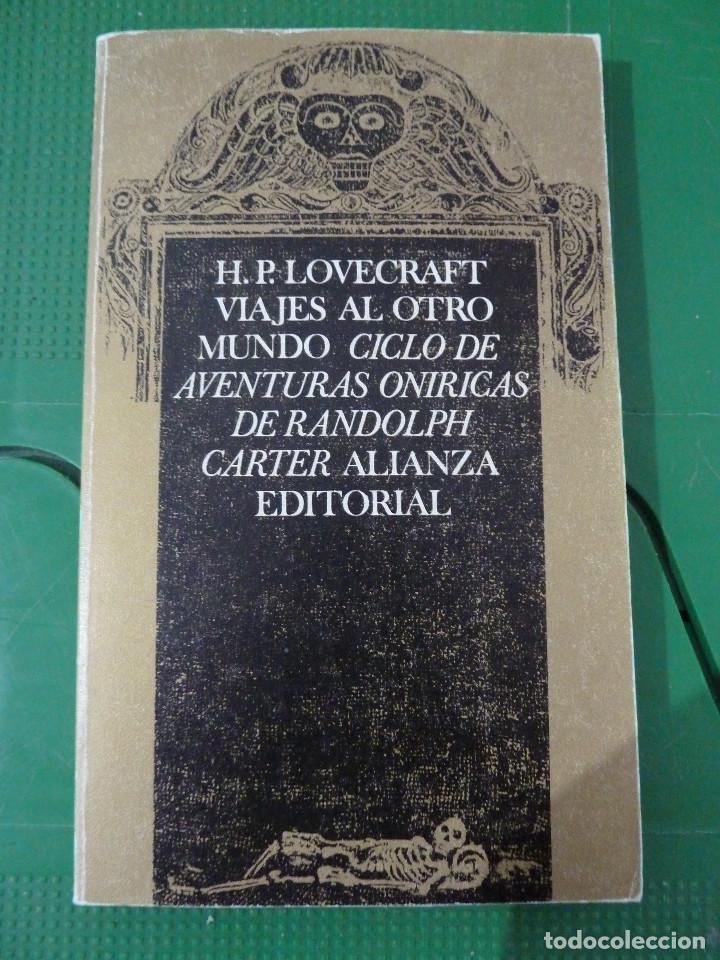 Libros de segunda mano: H.P. LOVECRAFT - ALIANZA EDITORIAL - 8 TITULOS - Foto 5 - 83155964