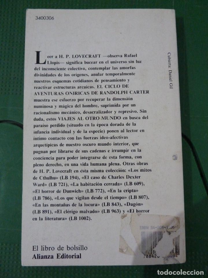 Libros de segunda mano: H.P. LOVECRAFT - ALIANZA EDITORIAL - 8 TITULOS - Foto 6 - 83155964