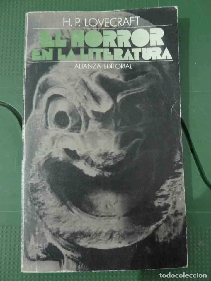 Libros de segunda mano: H.P. LOVECRAFT - ALIANZA EDITORIAL - 8 TITULOS - Foto 9 - 83155964