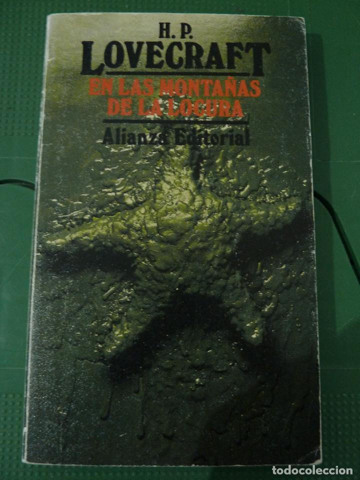 Libros de segunda mano: H.P. LOVECRAFT - ALIANZA EDITORIAL - 8 TITULOS - Foto 11 - 83155964