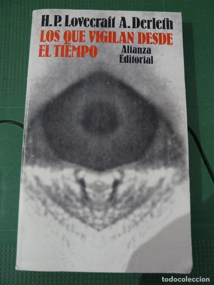Libros de segunda mano: H.P. LOVECRAFT - ALIANZA EDITORIAL - 8 TITULOS - Foto 13 - 83155964