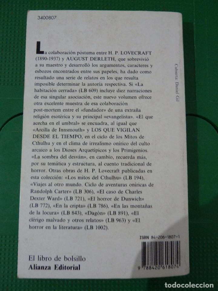 Libros de segunda mano: H.P. LOVECRAFT - ALIANZA EDITORIAL - 8 TITULOS - Foto 14 - 83155964