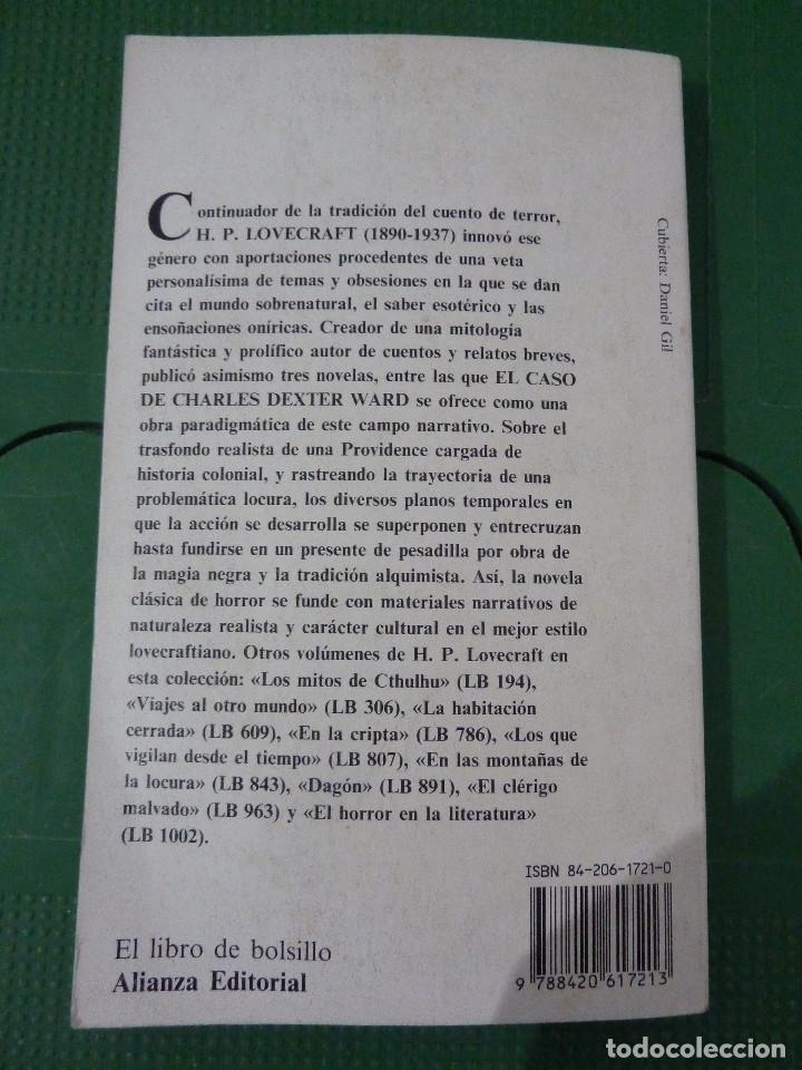 Libros de segunda mano: H.P. LOVECRAFT - ALIANZA EDITORIAL - 8 TITULOS - Foto 16 - 83155964