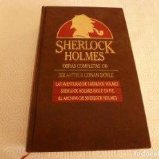 Libros de segunda mano: LIBRO-SHERLOCK HOLMES OBRAS COMPLETAS(2)-EDICIONES ORBIS(1987). Lote 83451600