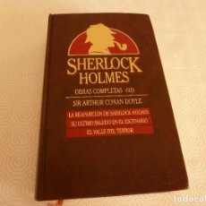 Libros de segunda mano: LIBRO-SHERLOCK HOLMES OBRAS COMPLETAS(3)-EDICIONES ORBIS(1987). Lote 83451620