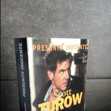 Libros de segunda mano: PRESUNTO ASESINO. SCOTT TUROW. . Lote 85618988