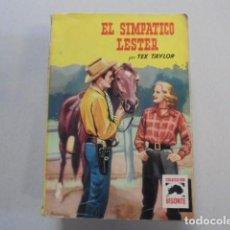 Libros de segunda mano: EL SIMPATICO LESTER - TEX TAYLOR - BISONTE 361 BRUGUERA - 1964 - 1ª EDICION - OESTE. Lote 85791868