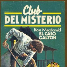 Libros de segunda mano: CLUB DEL MISTERIO Nº 15 - EL CASO GALTON. Lote 85922676