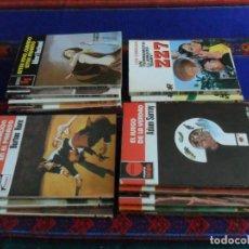 Libros de segunda mano: LOTE 14 NOVELA BRUGUERA BOLSILIBROS POLICIACO, PUNTO ROJO, SERVICIO SECRETO Y ZZ7 DE ROLLÁN. RARAS.. Lote 86349272