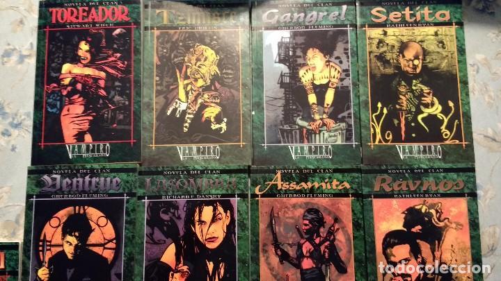 Novelas clan de vampiro la mascarada completas - Sold