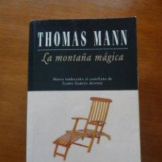 Libros de segunda mano: LA MONTAÑA MÁGICA THOMAS MANN POCKET EDHASA TRAD. ISABEL GARCÍA ADÁNEZ. Lote 86680776