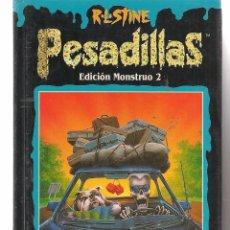 Libros de segunda mano: PESADILLAS. EDICIÓN MONSTRUO Nº 2. R.L. STINE. EDICIONES B 1996. (B/A42). Lote 87756656