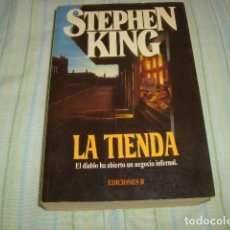 Libros de segunda mano: LA TIENDA , STEPHEN KING . Lote 89000436