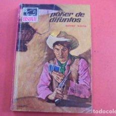 Libros de segunda mano: BISONTE 1133 - SILVER KANE / POKER DE DIFUNTOS - 1969 - 1ª EDICION - IMPECABLE ESTADO. Lote 90151304