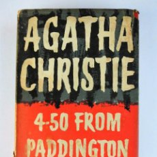 Libros de segunda mano: PRIMERA EDICIÓN (1957): AGATHA CHRISTIE, 4-50 FROM PADDINGTON. Lote 90361168