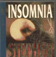 Libros de segunda mano: STEPHEN KING. INSOMNIA. GRIJALBO. PRIMERA EDICION. Lote 91033780