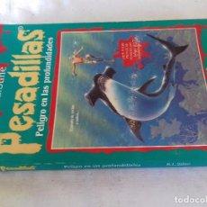Libros de segunda mano: PESADILLAS-PELIGRO EN LAS PROFUNDIDADES-R.L. STINE - EDICIONES B - EL PERIODICO 1995. Lote 91357655