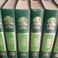 Libros de segunda mano: AGATHA CHRISTIE, OBRAS COMPLETAS 27 TOMOS. Lote 242822335