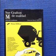 Libros de segunda mano: M DE MALDAD SUE GRAFTON. Lote 91929515