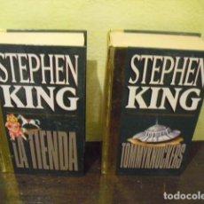 Libros de segunda mano: STEPHEN KING - 2 LIBROS. Lote 133555806