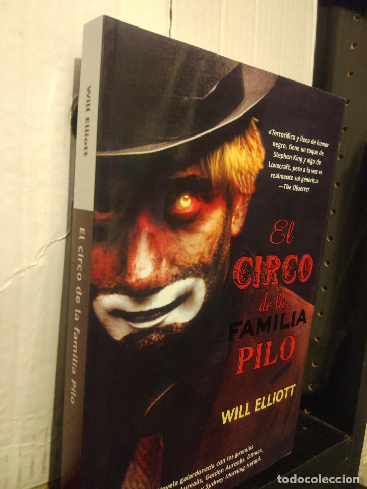 Libros de segunda mano: El circo de la familia Pilo. Will Elliott. Eclipse. La Factoría de Ideas. Nuevo. - Foto 2 - 289523848