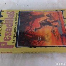 Libros de segunda mano: PESADILLAS-LA REPUGNANTE CARA DEL TERROR- R. L . STINE / EDICIONES B-EDICION 1996. Lote 94212470