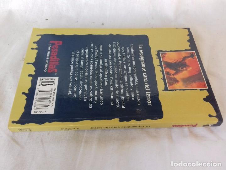 Libros de segunda mano: PESADILLAS-LA REPUGNANTE CARA DEL TERROR- R. L . STINE / EDICIONES B-EDICION 1996 - Foto 2 - 94212470