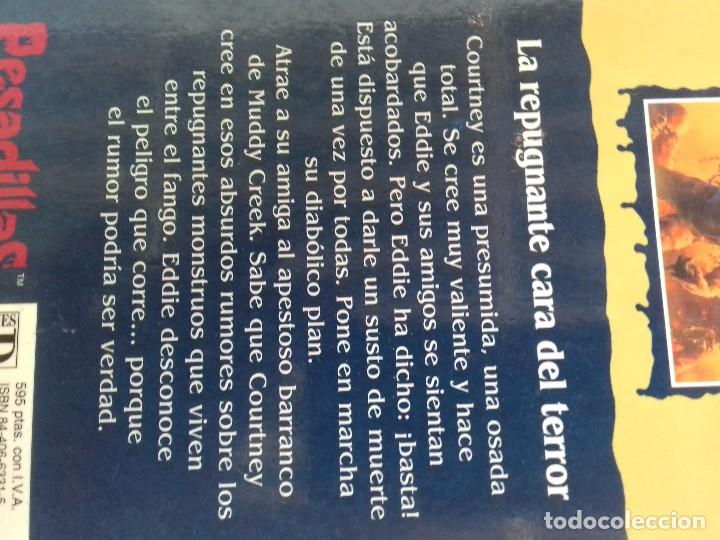 Libros de segunda mano: PESADILLAS-LA REPUGNANTE CARA DEL TERROR- R. L . STINE / EDICIONES B-EDICION 1996 - Foto 3 - 94212470