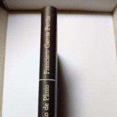 Libros de segunda mano: VENDIMIARIO DE PLINIO - F. GARCÍA PAVÓN - EDICIONES DESTINO 1ª EDICION 1972. Lote 94664111