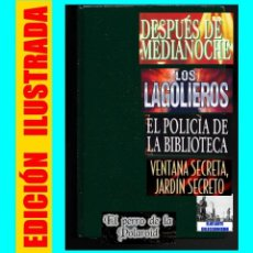 Libros de segunda mano: DESPUÉS DE MEDIANOCHE - STEPHEN KING - LAGOLIEROS - PERRO DE LA POLAROID - POLICÍA DE LA BIBLIOTECA. Lote 95440159