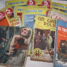 Libros de segunda mano: LOTE DE 13 NOVELAS DE MISTERIO ANTIGUAS. Lote 95666283
