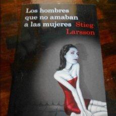 Libros de segunda mano: LOS HOMBRES QUE NO AMABAN A LAS MUJERES. STIEG LARSSON. DESTINO, 1ª EDICION, 2008. RUSTICA CON SOLAP. Lote 95700051
