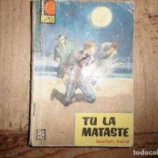 Libros de segunda mano: PUNTO ROJO Nº 99 TU LA MATASTE BURTON HARE BRUGUERA. Lote 95778095
