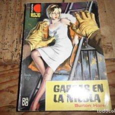 Libros de segunda mano: PUNTO ROJO Nº 109 GARRAS EN LA NIEBLA BURTON HARE BRUGUERA. Lote 95778451