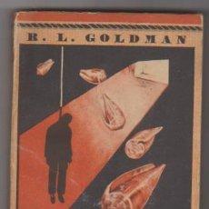 Libros de segunda mano: COLECCIÓN EL ELEFANTE BLANCO Nº 83. LAS CONCHAS PURPUREAS.R.L.GOLDMAN SATURNINO CALLEJA. SIN ABRIR. Lote 95835199