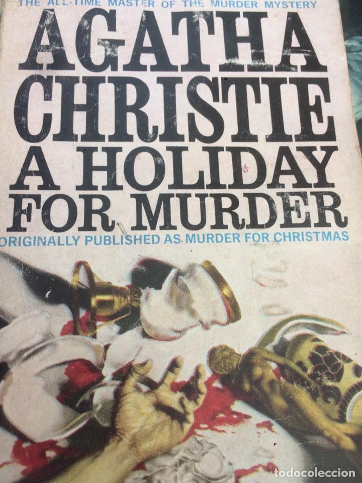 Agatha Christie A Holiday For Murder O Murde Comprar Libros De