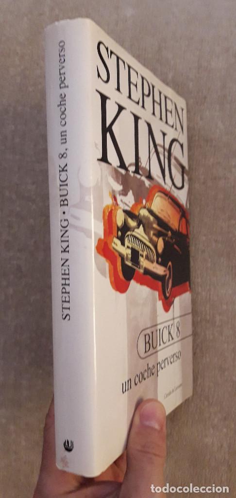 LIBRO - STEPHEN KING - BUICK 8 - UN COCHE PERVERSO - TAPA DURA CON SOBRECUBIERTA. NUEVO (Libros de segunda mano (posteriores a 1936) - Literatura - Narrativa - Terror, Misterio y Policíaco)