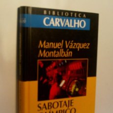 Libros de segunda mano: SABOTAJE OLÍMPICO. VÁZQUEZ MONTALBÁN MANUEL. 2000. Lote 96378827