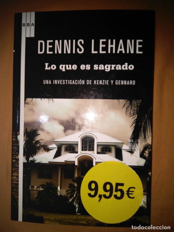 DESNNIS LEHANE LO QUE ES SAGRADO INVESTIGACION DE KENZIE Y GENARO (Libros de segunda mano (posteriores a 1936) - Literatura - Narrativa - Terror, Misterio y Policíaco)