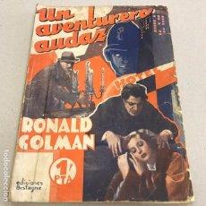 Libros de segunda mano: UN AVENTURERO AUDAZ - ED. BISTAGNE. Lote 96782363