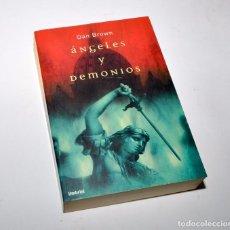 Libros de segunda mano: ÁNGELES Y DEMONIOS - DAN BROWN. Lote 97093495