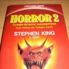 Libros de segunda mano: HORROR 2, MARTINEZ ROCA, GRAN SUPER TERROR STEPHEN KING. Lote 131028617