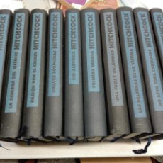 Libros de segunda mano: ALFRED HITCHCOCK / LOTE 10 LIBROS / CÍRCULO DE LECTORES. Lote 100490882