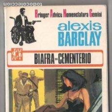 Libros de segunda mano: ALEXIS BARCLAY - BIAFRA=CEMENTERIO -EUREDIT 1969 - 191 PGS.. Lote 98242547