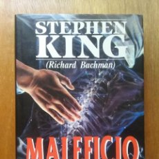 Libros de segunda mano: MALEFICIO, STEPHEN KING, RICHARD BACHMAN, PLAZA & JANES EXITOS, 1992. Lote 98406291
