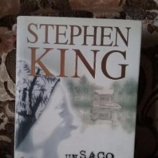 Libros de segunda mano: UN SACO DE HUESOS, DE STEPHEN KING. PRIMERA EDICIÓN (PLAZA Y JANES, NOVIEMBRE 1998). Lote 98644871
