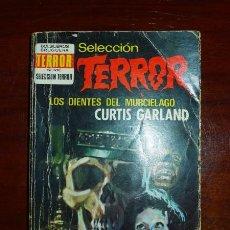 Libros de segunda mano: GARLAND, CURTIS. LOS DIENTES DEL MURCIÉLAGO. (BOLSILIBROS BRUGUERA. SELECCIÓN TERROR ; 57). Lote 98749007