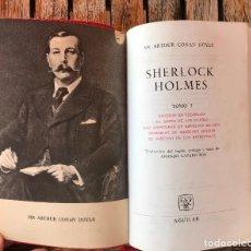 Libros de segunda mano: SHERLOCK HOLMES. AUTOR, SIR ARTHUR CONAN DOYLE. TOMO I. EDITA AGUILAR, COLECCIÓN LINCE ASTUTO.. Lote 98854359